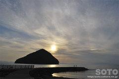 2013/06/02の夕陽(1)