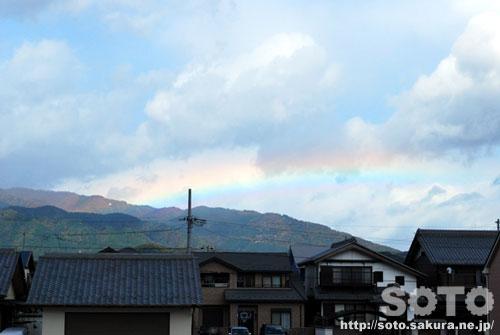 2011/11/20 虹(2)