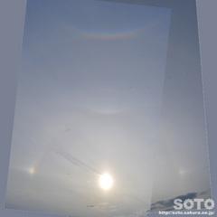 日暈+幻日+逆さ虹(合成2)