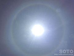 2012/07/03の日暈