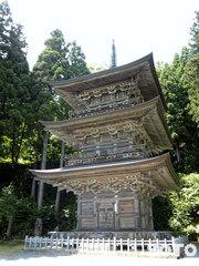 慈恩寺(三重塔)