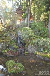 定義山(天皇塚と長命水の池)