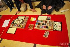 円通院(数珠つくり体験)