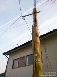山鹿(電柱)