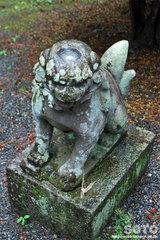 常堅寺(カッパ狛犬)