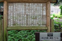 常堅寺(カッパ淵 案内板)