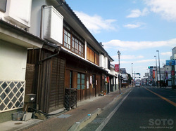 白壁の町並み(1)
