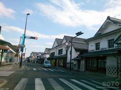 白壁の町並み(2)