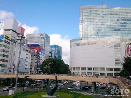 仙台駅前(1)