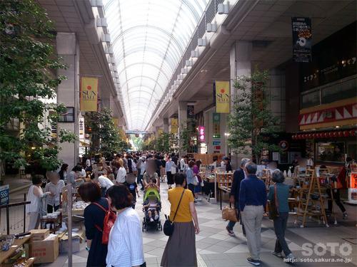 仙台アーケード街(3)