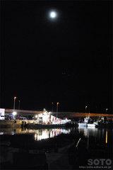 羅臼漁港(夜景1)