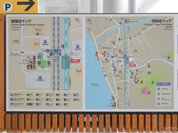 木古内駅周辺マップ