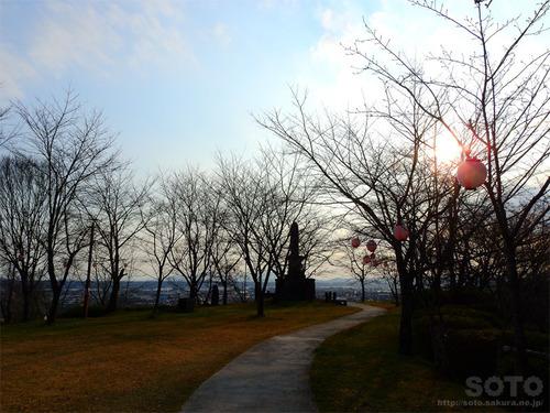 城山公園(展望所)