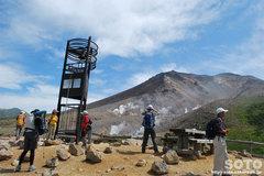 旭岳登山(愛の鐘)
