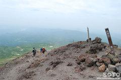 旭岳登山(八合目)