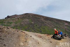 旭岳登山(7)