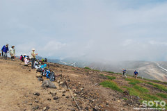 旭岳登山(山頂)