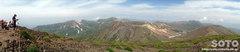 旭岳登山(山頂パノラマ)
