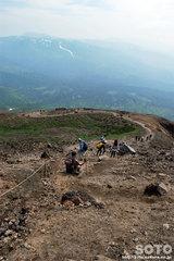 旭岳登山(10)