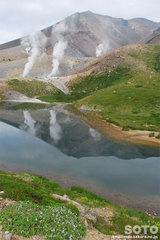 旭岳登山(姿見の池2)