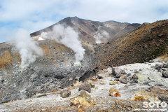 旭岳登山(噴気孔1)