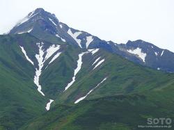 ポン山(大ポン山頂上から見た利尻富士)