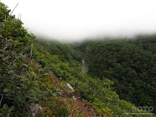 硫黄山(登山道1)