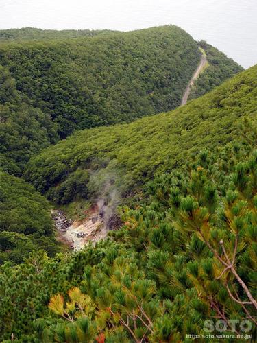 硫黄山(登山道3)