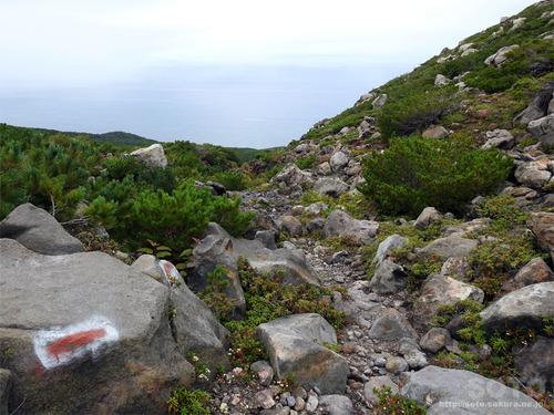 硫黄山(登山道4)