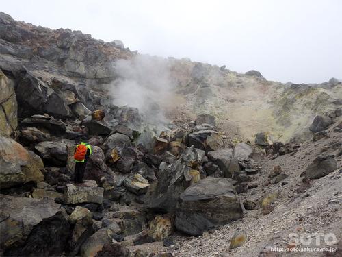 硫黄山(硫黄噴出口1)