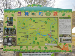 白神山地マップ