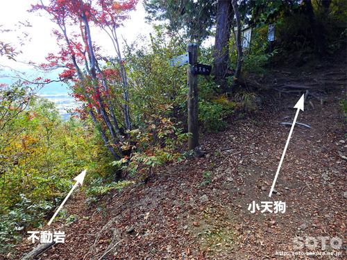 嵩山(登山道06)