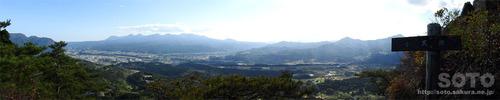 嵩山(小天狗からの眺め01)
