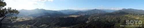 嵩山(小天狗からの眺め02)