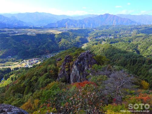 嵩山(小天狗からの眺め03)