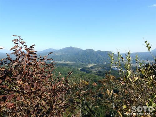 嵩山(中天狗からの眺め)