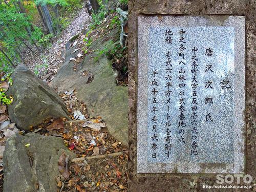 嵩山(登山道07)