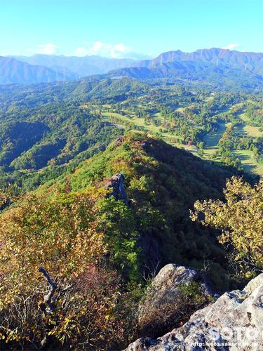 嵩山(大天狗からの眺め)