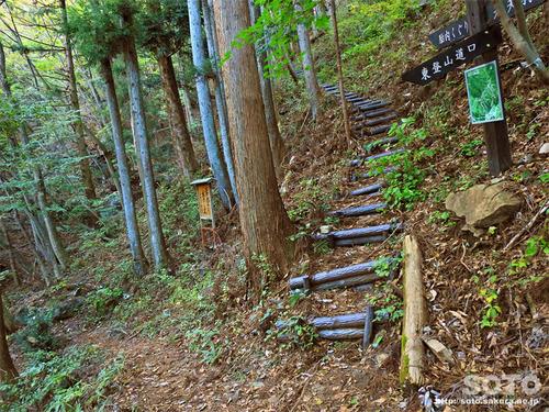 嵩山(登山道14)