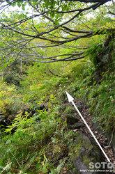 愛山渓沼の平(岸壁ルート)