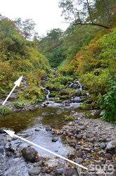 愛山渓沼の平(またまた川を渡る)