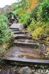 秋の黒岳登山(1)