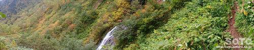 愛山溪沼の平(村雨の滝パノラマ)