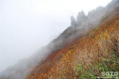 秋の黒岳登山(3)