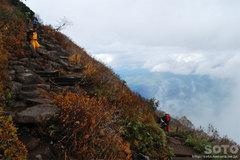 秋の黒岳登山(5)