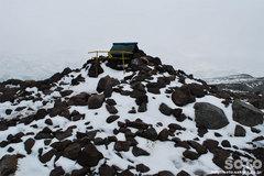秋の黒岳登山(黒岳山頂)