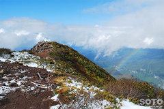 秋の黒岳登山(虹)