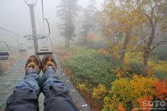 秋の黒岳登山(22)