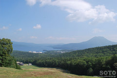 白湯山自然観察路(ゲレンデからの眺め)