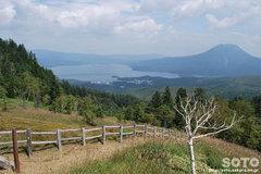 白湯山自然観察路(展望台からの眺め)